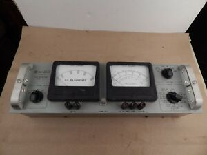Vintage Westinghouse Test Meter Unit Rack mounted Meters Type Tct Steam Punk