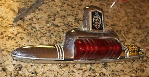 1946 1947 1948 Dodge Sedan Trunk Lid Ornament W Glass Lens H
