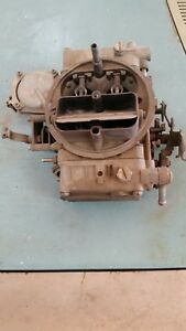Holley Four Barrel Carburetor List 1850 2 600cfm