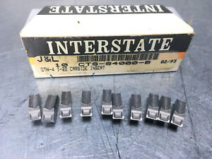Interstate Gtn 4 I22 Carbide Insert Cts 84000 b 10 Pcs