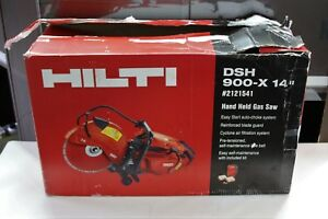Hilti 2121541 Hand held Gas Saw Dsh 900 X 14 Cutting Sawing Grinding