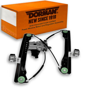 Dorman Front Left Window Motor And Regulator Assembly For Chevy Cruze Oj
