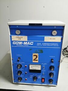 Gow mac Gas Chromatograph Series 350 Thermal Conductivity Detector