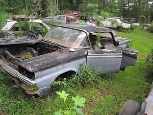 57 62 Ford Galaxie Left Driver Lower Control A Arm 58 60 Edsel 59 60 Tbird