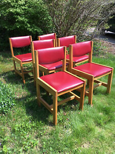 Mid Century Modern Dining Room Chairs Set Of 6