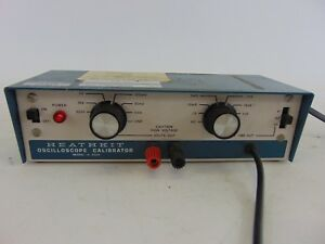 Heathkit Oscilloscope Calibrator Model Ig 4505