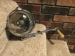Vintage Chrome Spotlight Gmc Unity S 5 Spotlight