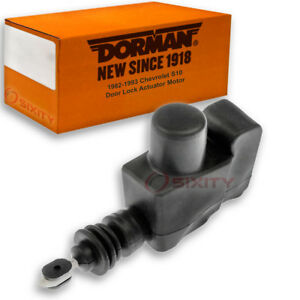 Dorman Rear Right Door Lock Actuator Motor For Chevy S10 1982 1993 Zo