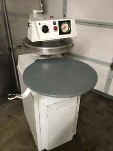 Doughpro Dp 1300 Heated Automatic 18 Pizza Dough Press W rolling Cabinet
