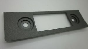 Ford Falcon Xw Xy Gt Gs 8 Track Radio Face Plate argent Gray