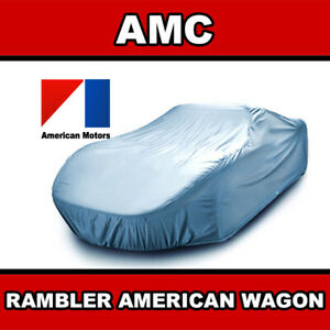amc Rambler American Wagon 1958 1959 1960 Car Cover Custom fit Best