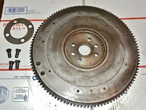 Ford 8ba Flathead Flywheel 112 Tooth With Shim And Bolts 1947 1953 Ford