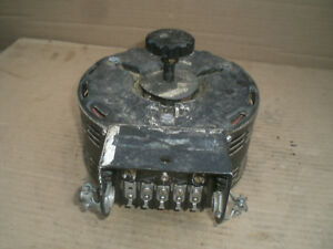General Radio Variable Transformer Variac 120vac Input 0 120 vac Output 8a
