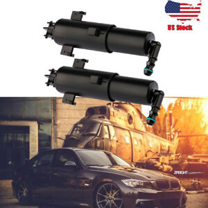 2pcs 61677179311 For Bmw E90 Headlight Washer Nozzle Left Right Side