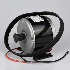 Brushed Dc 24v 300w Motor With 5m Belt Wheel For Electric Scooter E Bike Folding