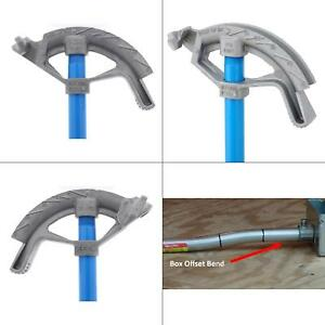 1 2 Aluminum Conduit Bender Head Handle Home Electrician Electrical Hand Tool