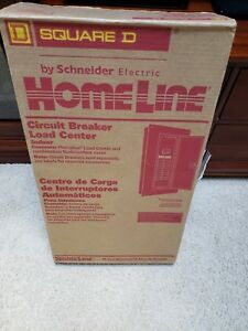 Square D Schneider 125amp 20 Space Circuit Breaker Load Center Panel Hom20l125c