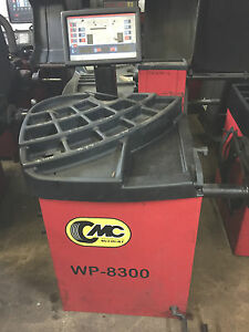 Mccourt Wp 8300 Computer Wheel Balancer Machine 120