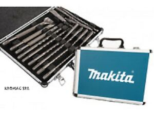 Makita D 42444 Set Tips And Chisels Sds plus New For Impact Drills