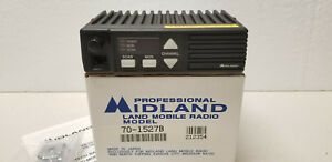 Midland 70 1527b Two way Fm Uhf Mobile Radio Nib W Bracket Wires