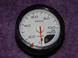Defi Link Advance Cr Oil Press Gauge Only