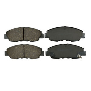 Front Disc Brake Pad Premium Ceramic Set For Honda Civic Accord Insight Kfe465