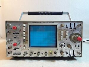 Kikusui Oscilloscope 100mhz Model Cos6100m Probes And Ac Power 1218