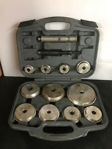 Matco Tools Brs12 Master Pneumatic Bearing Race Seal Driver Set