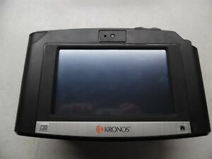 Kronos Intouch 9000 Time Clock 8609000 018 Touchscreen H2 barcode With Bio