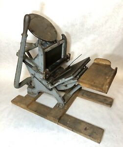 Craftsmen Table Top 5x8 Letterpress Printing Press