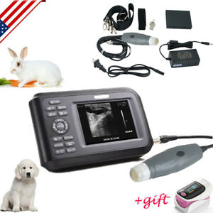 Portable Ultrasound Scanner Machine Handheld Pregnancy Animal Veterinary case