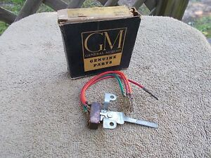 Vintage Genuine Gm Parts 1957 Chevrolet Chevy Heater Air Blower Switch 3139116
