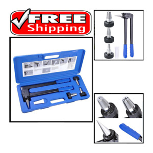Expansion Tool Kit Tube Expander With 1 2 3 4 1 Expander Head Hard Carry Case