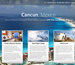 Money Making hotels Flights Travel Affiliate Website