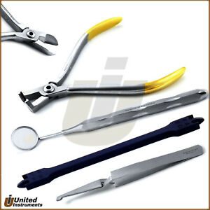 Orthodontic Instruments Set Ligature Pin Wire Distal End Cutter Tc Bracket Plier