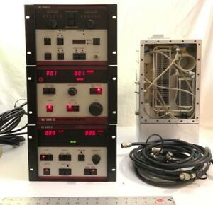Advanced Energy Us Gun Ii Lot Rf Generator Rfx Atn Dc Power Sup Rf Match