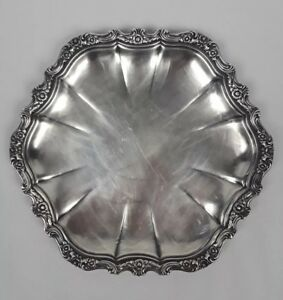 Countess International Silver Company Silverplate Tray 6221