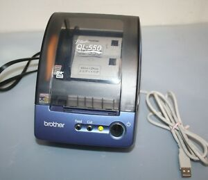 Brother Ql500 P touch Thermal Label Maker Printer Used