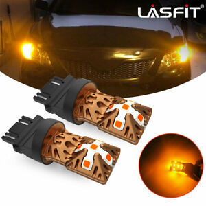 Lasfit 3157 3457 Amber Led Front Turn Signal Light Bulbs For Ford F 150 90 2014