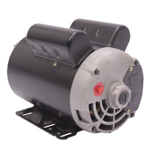 5 Hp 1phase 3450rpm Electric Air Compressor Duty Motor 56 Shaft 60 Hz Frame 5 8