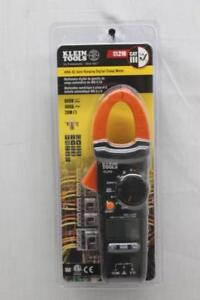 Klein Tools Digital Clamp Meter Ac Auto ranging With Temp Cl210 New