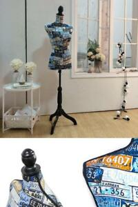 Display Mannequin Female Dress Form Torso With Stand For Clothing Dress Jewelry