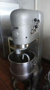 Hobart M802 80qt Mixer Includes Accessories Bowl With Auto Lift 100 Working
