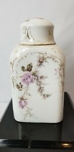 19th Century Hand Painted German Rosenthal Porcelain Decanter