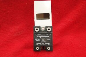 Crydom Solid State Relay A2475 In 90 To 280vac Out Up To 240 Vac At 75 Amp