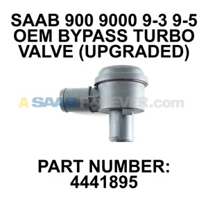 Saab New 95 9 5 900 9000 86 09 Turbo Turbocharger Bypass Dump Valve 4441895 Oem