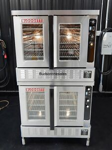 Blodgett Dual Flow Double Gas Commercial Convection Oven Bakery Pizza Bakery Dep