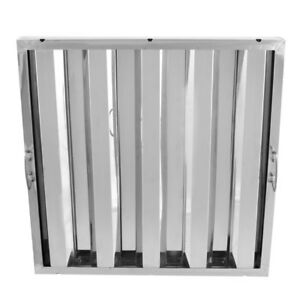 16 X 20 X 2 Stainless Steel Commercial Kitchen Exhaust Hood Filter