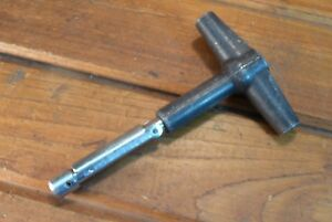 Vintage Jo Line Ratchet Torque Wrench 60 T Handle