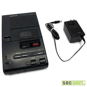 Sony M 2000 Microcassette Transcriber With Power Supply Ship Same Day